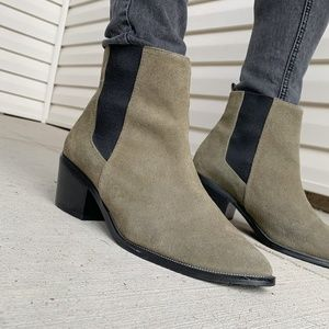 sol sana edgar suede chelsea boots